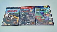 NEW 3 PS2 GAMES Hummer: Badlands- ATV 4- Army Men Soldier's of Misfortune