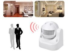 Bewegungsmelder  IP44 LED Sensor INNEN & AUßEN Infrarot Wasserdicht
