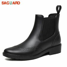 Fashion Chelsea Boots Women Shoes Rain Boots Waterproof Anti-skid Casual Outdoor