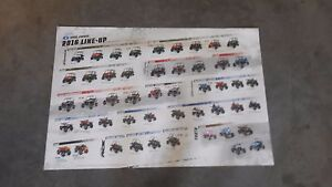 2016 Polaris Line Up Ranger 570 RZR900 Sportsman 850  Dealer Exclusive Poster