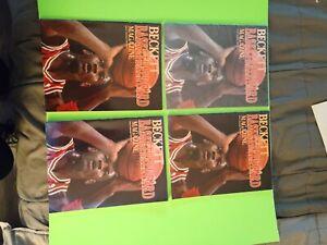 Beckett Basketball Card Magazine Michael Jordan - Issue #1 - March 1990. Lot of4
