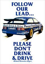 Low Ford Sierra MK1 XR4i 4X4 Cosworth silhouette Sport Sticker Free 1st P/&P
