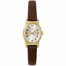 Timex T2M567, Women's Cavatina Brown Leather Watch, T2M5679J