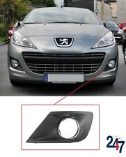 NEW PEUGEOT 207 2009 - 2014 FRONT BUMPER FOG LIGHT GRILL CHROME LEFT N/S