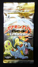 Pokemon Japanese Neo Genesis Booster Pack New from 2002