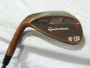 Used LH TaylorMade Milled Grind Hi-Toe Single 60* Wedge - Stiff Flex Steel
