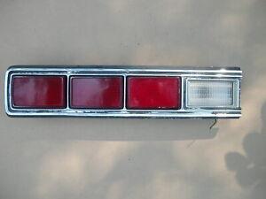 1973 MERCURY MARQUIS / MONTEREY - OEM LEFT DRIVER TAIL LIGHT