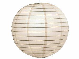 Paralume Carta Giappone-SFERA bianco ø 50cm lampadario lampada sospesa lanterna