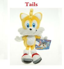 """New Yellow Sonic The Hedgehog Tails 9"""" Figure Plush Doll Stuffed Toy 23cm Gift"""