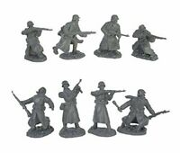 TSSD 1/32 WWII GERMAN INFANTRY LONG COATS 16 PLASTIC SOLDIER FIGURES FREE SHIP
