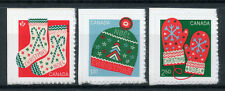 Canada 2018 MNH Christmas Winter Knits 3v S/A Set Knitting Stamps