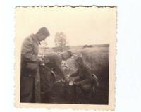 Foto 2.WK    Soldaten Feldküche Luftwaffe   Frankreich 1940 Wehrmacht WW2 E21