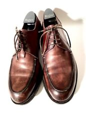 Berluti Brown Patina Leather Shoes Size 43, UK-9, US-10