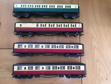 Hornby Train Set Flying Scotsman 4 Coaches (NEW) Track/Points Buildings etc