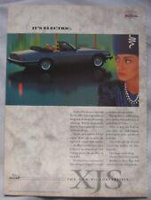 Jaguar XJ-S V12 Convertible Original advert No.1