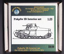 BRACH MODEL BM 06 - Pzkpfw IB INTERIOR SET - 1/35 RESIN KIT
