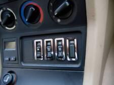 D BMW Z3 Chrom Rahmen für Schalter Sitzheizung - ASC - Edelstahl poliert 4 Teile