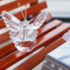 Clear Crystal Butterfly Christening Baby Shower Birthday Party Favors Gift