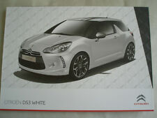 Citroen DS3 White brochure Jun 2010