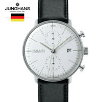 Junghans Max Bill Automatic 027/4600 Black Leather Strap Watch for Man &Woman