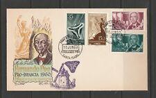11018-47 SPAIN FDC FERNANDO POO 1960 CACHET BY QUIROS U/A