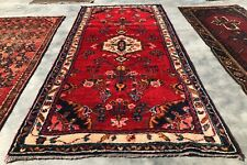 New listing Authentic Hand Knotted Vintage Hamidoun Wool Area Rug 6.5 x 3.0 Ft (9762 Bn)