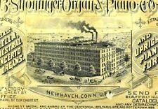 Early B. Shoninger Organ & Piano Co Cymbella Orchestral Concerto Trade Card P51