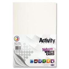 A3 160 g Blanc activité Carte (Pack de 50 feuilles)