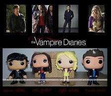 The Vampire Diaries custom Funko Pop Damon Salvatore Stefan Elena Caroline