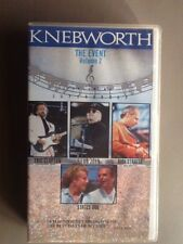 VHS Musik Video Kassette KNEBWORTH The Event Volume 2 Status Quo Dire Straits