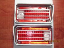 1970 Chevrolet Chevelle & Malibu Tail Light Lens - RH + LH  NEW Reproduction!