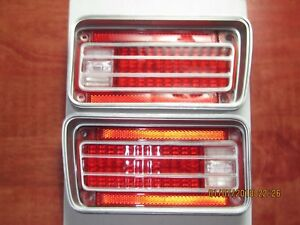 1970 Chevrolet Chevelle & Malibu Tail Light Lens - RH + LH  NEW Reproduction!