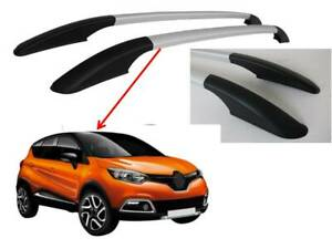 RENAULT CAPTUR ROOF RAILS IN SILVER COSMETIC ONLY - NON LOAD BEARING - 7007934