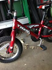 "TREK 12"" Boys or Girls Bike Two tone RED Kids Training Pre- School Trainer"
