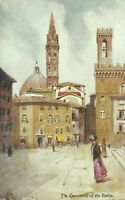 Tuck Oilette Wide Wide World Series Florence Italy Campanile 1910 Postcard