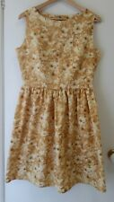 NEW Fit and flare topaz floral dress, size 12