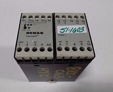 DEMAG FSM-1 DEMATIK 110-120V DETECTOR RELAY 46965644