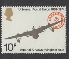 IMPERIAL AIRWAYS SHORT S21 FLYING BOAT ILLUSTRATED ON 1974 UNMOUNTED MINT  STAMP