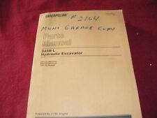 Caterpillar 345B L Hydraulic Excavator Dealer's Parts Manual