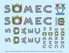 Somec Bicycle Decals-Transfers-Stickers #3