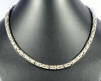 Königskette Echt 925 Silber 5,5mm Silberkette Königs-Kette  Schmuck ca.46cm Lang