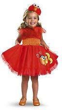 Sesame Street'S Frilly Elmo Red Orange Yellow Toddler Halloween Costume Size 2T