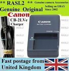 Genuine Original CANON Charger,CB-2LVE NB-4L IXUS 50 55 60 65 70 75 80 100 iS