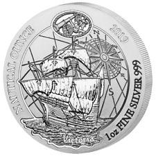 Ruanda - 50 Francs 2019 - Victoria - Nautical Ounce (3.) - 1 Oz Silber ST