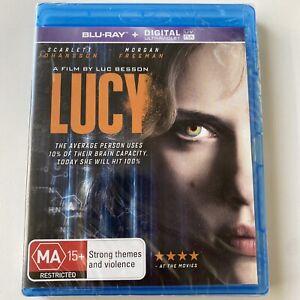 Lucy - Scarlett Johansson (Blu-ray) Australia Region B- NEW & SEALED