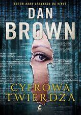 Cyfrowa twierdza - Dan Brown Wysyłka z UK polska książka polish book