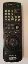 Sony Video TV VCR RMT-V250 Remote Control Genuine OEM