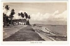 Malaya SINGAPORE SG#5(pair)-SINGAPORE 30/JUN/52-REAL PHOTO Postcard View