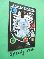 Panini Adrenalyn euro 2016 Limited Edition Sterling Black Inglaterra Edition Rare