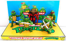 TEENAGE MUTANT NINJA TURTLES Comic Action Figure on Custom TMNT Display Diarama